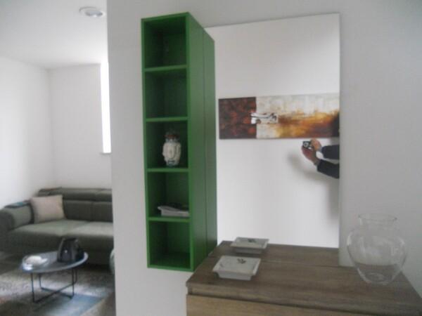 30#5754 Specchio rettangolare e appendiabiti in ferro in vendita - foto 14