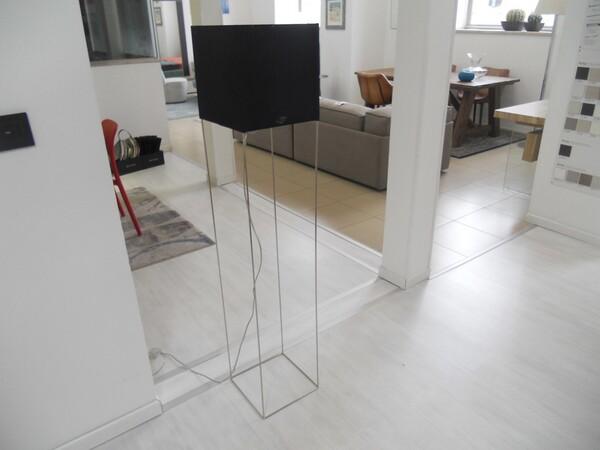 30#5754 Specchio rettangolare e appendiabiti in ferro in vendita - foto 27