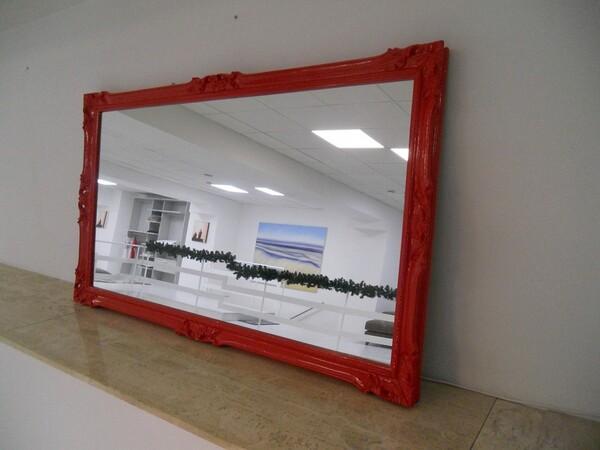 30#5754 Specchio rettangolare e appendiabiti in ferro in vendita - foto 82