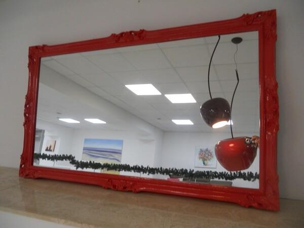 30#5754 Specchio rettangolare e appendiabiti in ferro in vendita - foto 83