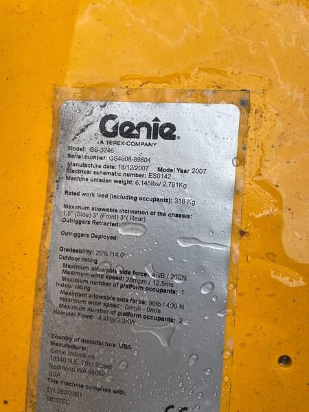 9#5755 Piattaforma aerea a pantografo Genie in vendita - foto 2