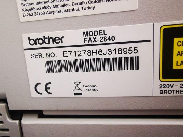 5#5760 Triumph Adler 2500CI e fax Brother 2840 in vendita - foto 12
