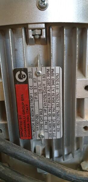 9#5770 Aspiratore a carrello Sperandei in vendita - foto 3