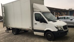 Mercedes Sprinter van and Arpac bagging machine - Auction 5776