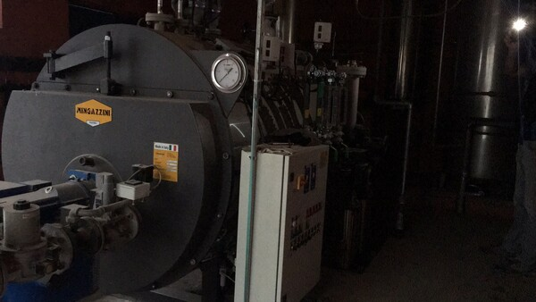 1#5776 Generatore vapore e bruciatore gasolio Lamborghini in vendita - foto 4