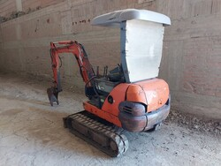 Fiat Hitachi mini excavator - Lot 1 (Auction 5783)