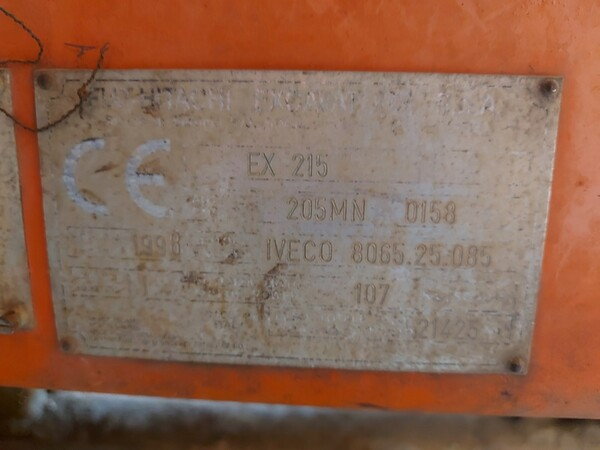 2#5783 Escavatore Fiat-Hitachi in vendita - foto 9