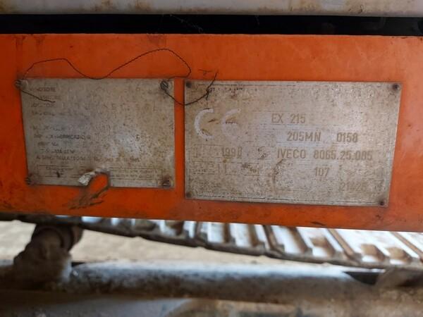 2#5783 Escavatore Fiat-Hitachi in vendita - foto 11