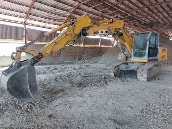 4#5783 Escavatore cingolato New Holland in vendita - foto 6