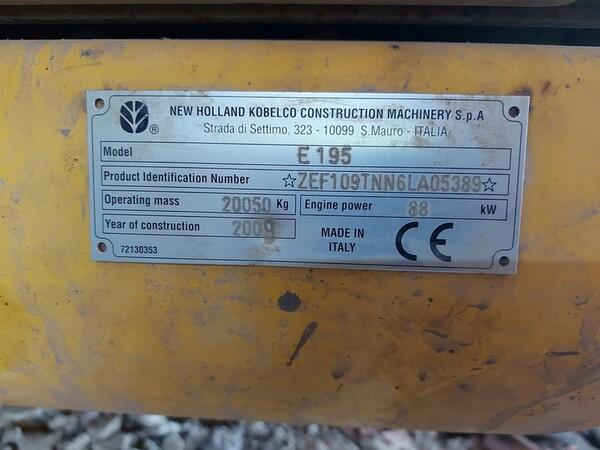 4#5783 Escavatore cingolato New Holland in vendita - foto 10