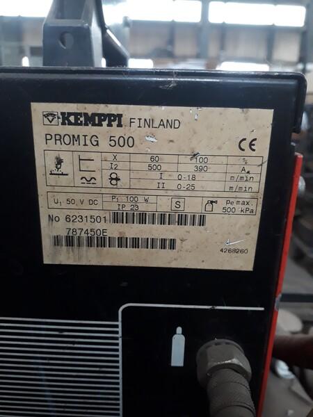 3#5788 Saldatrice a filo Kemppi Pro 5000 in vendita - foto 8