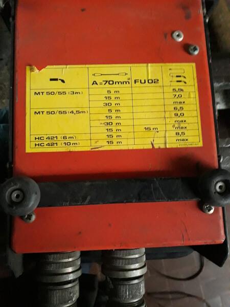 4#5788 Saldatrice a filo Kemppi PS 5000 in vendita - foto 2