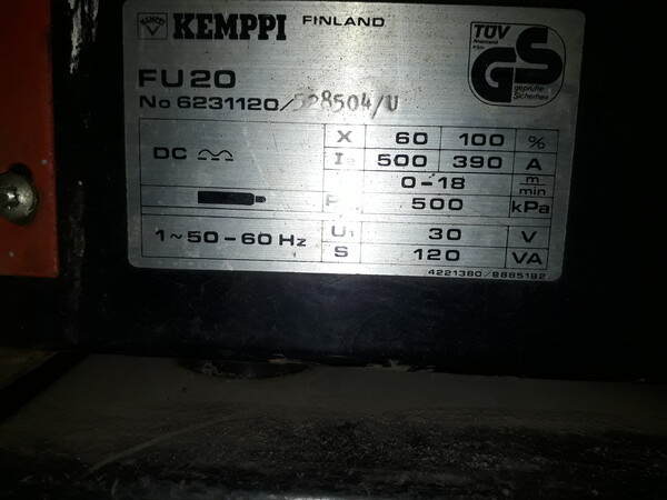 4#5788 Saldatrice a filo Kemppi PS 5000 in vendita - foto 17