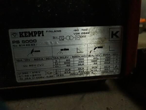4#5788 Saldatrice a filo Kemppi PS 5000 in vendita - foto 19