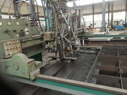 Kjillberg Eberle sheet metal cutting machine - Lot 5 (Auction 5788)
