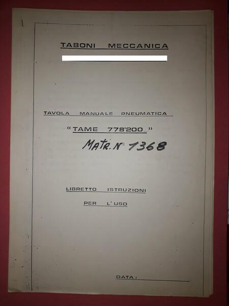 6#5788 Tavola rotante Taboni in vendita - foto 4