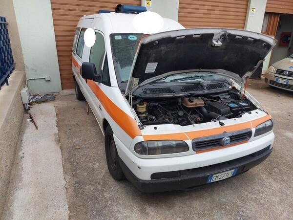 5#5804 Autoambulanza Fiat Scudo in vendita - foto 4