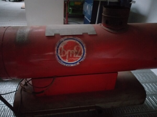 2#5807 Generatore aria calda in vendita - foto 1