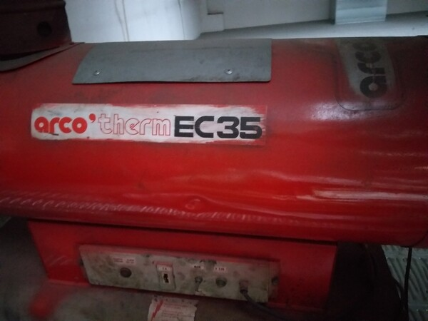 2#5807 Generatore aria calda in vendita - foto 2