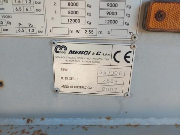 2#5809 Semirimorchio Menci SA700R in vendita - foto 5