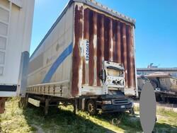 Bernard Krone GmbH SDP27 semi trailer - Lot 25 (Auction 5809)