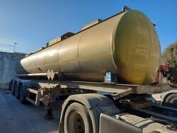 Menci SA 105 semi trailer - Lot 42 (Auction 5809)