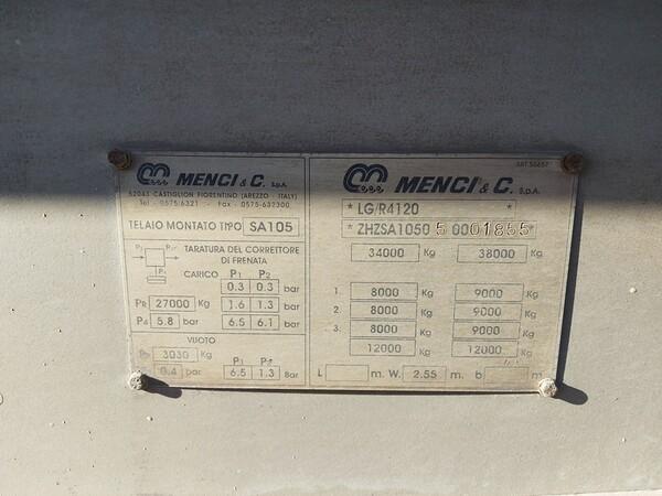 42#5809 Semirimorchio Menci SA 105 in vendita - foto 4