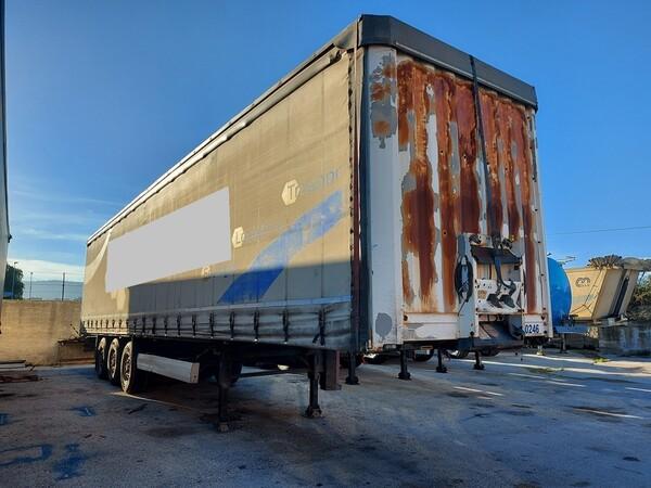 60#5809 Semirimorchio Bernard Krone GmbH SDP27 in vendita - foto 1