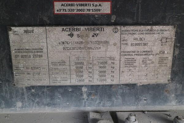 13#5810 Semirimorchio Acerbi-Viberti AV38S20 in vendita - foto 9