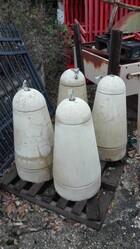Concrete bollards - Lot 12 (Auction 5812)