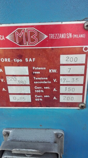 15#5812 Saldatrice MB in vendita - foto 2