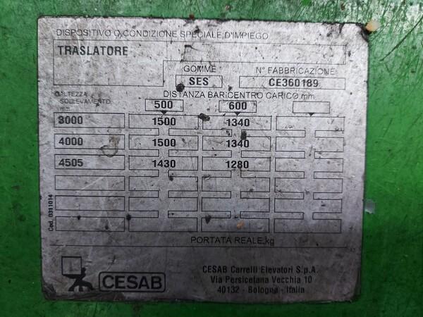 1#5813 Carrello elevatore Cesab in vendita - foto 3