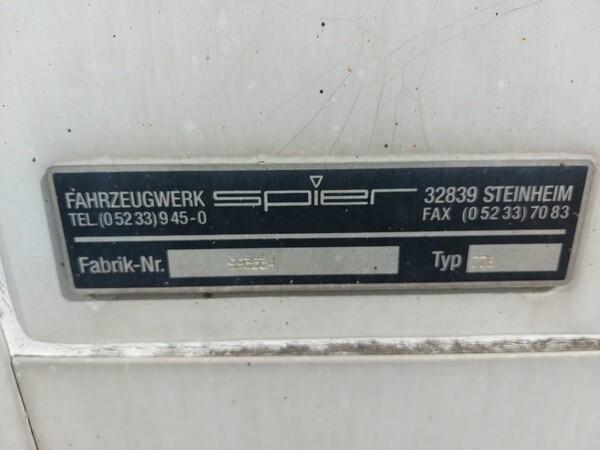 17#5813 Cassone scarrabile per camion Spier in vendita - foto 2