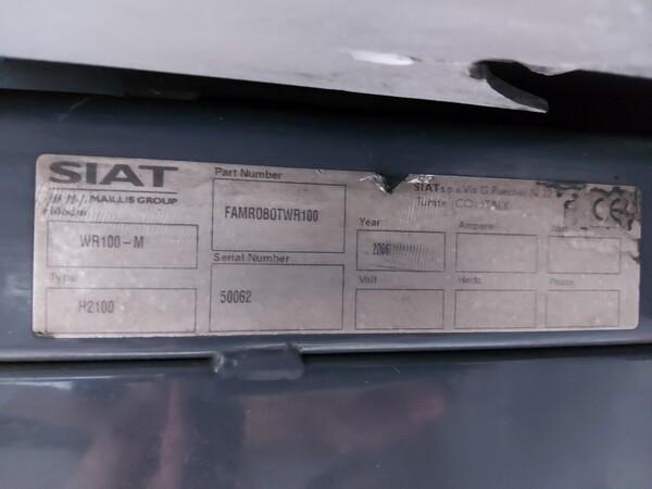 6#5813 Imballatrice Siat WR100-M in vendita - foto 2