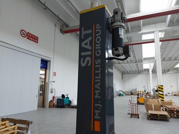 6#5813 Imballatrice Siat WR100-M in vendita - foto 8