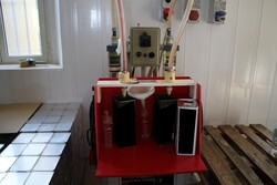 Omni filler and bottles for packaging - Lot 0 (Auction 5816)