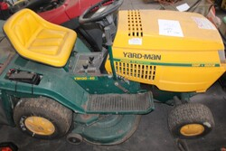 Saber and Yard Man ride on mowers - Lot 12 (Auction 5817)