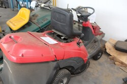 GGP Italy ride on mower and KPR sweeper - Lot 13 (Auction 5817)