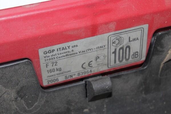 13#5817 Trattorino tosaerba GGP Italy e spazzatrice KPR in vendita - foto 8