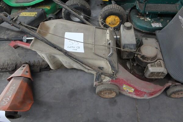 13#5817 Trattorino tosaerba GGP Italy e spazzatrice KPR in vendita - foto 11
