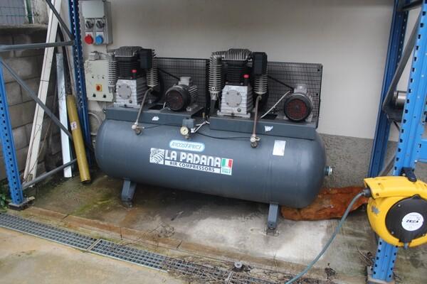 21#5817 Compressore La Padana e impianto di aria compressa in vendita - foto 10