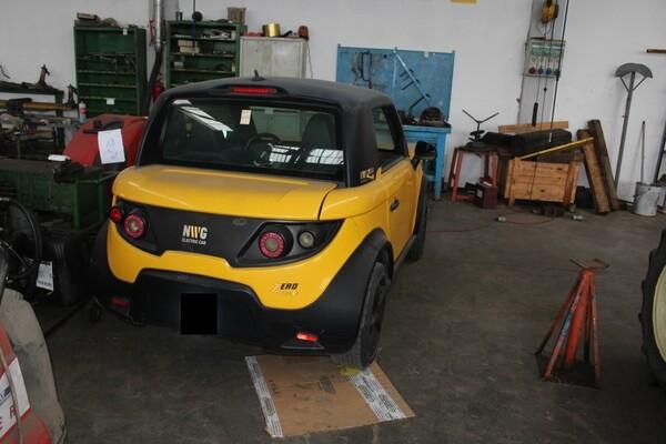 38#5817 Autovettura elettrica Tazzari in vendita - foto 3