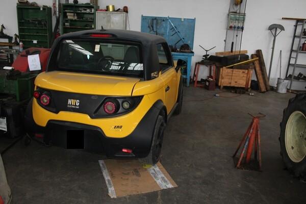 38#5817 Autovettura elettrica Tazzari in vendita - foto 4