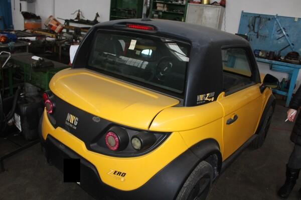 38#5817 Autovettura elettrica Tazzari in vendita - foto 15
