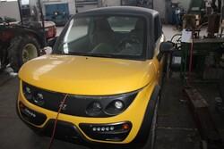 Autovettura elettrica Tazzari