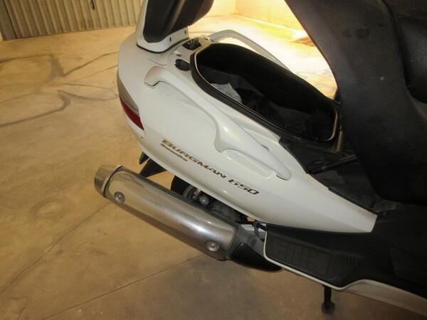 5#5823 Scooter Suzuki burgman 650 in vendita - foto 11