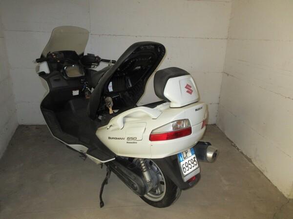 5#5823 Scooter Suzuki burgman 650 in vendita - foto 14