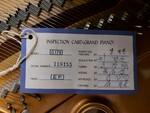 Immagine 7 - Pianoforte mezzacoda Young Chan - Lotto 21 (Asta 5826)