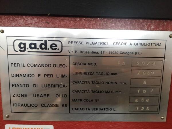 1#5827 Cesoia Gade in vendita - foto 2