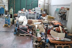 Spare parts warehouse and machinery for crusher plants - Lot 0 (Auction 5843)